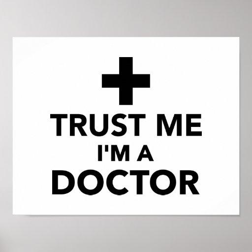 Trust me I'm a doctor Print