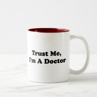 Trust Me, I'm A Doctor Two-Tone Mug