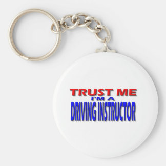 Trust Me I'm A Driving Instructor Key Ring