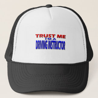 Trust Me I'm A Driving Instructor Trucker Hat