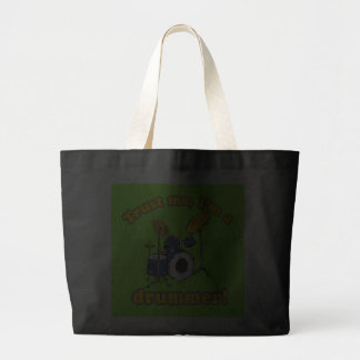 Trust Me Im a Drummer Canvas Bag