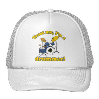 Trust Me Im a Drummer Hats