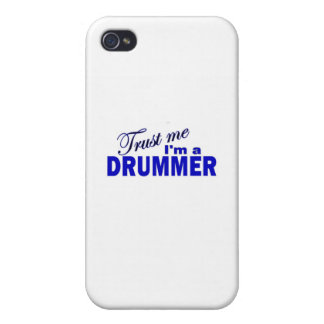 Trust Me I'm a Drummer iPhone 4/4S Cases