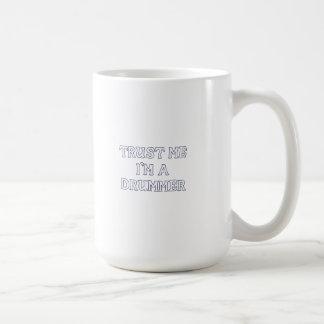 Trust Me I'm a Drummer Coffee Mugs