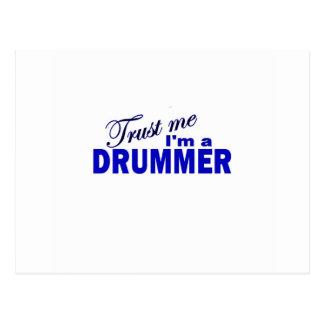 Trust Me I'm a Drummer Postcards