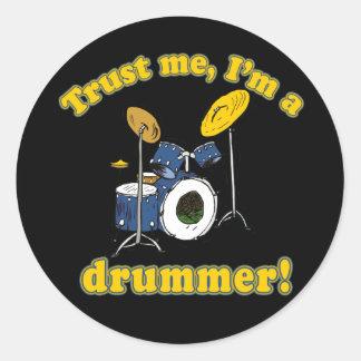 Trust Me Im a Drummer Sticker