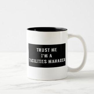 Trust Me I'm A Facilities Manager Two-Tone Coffee Mug