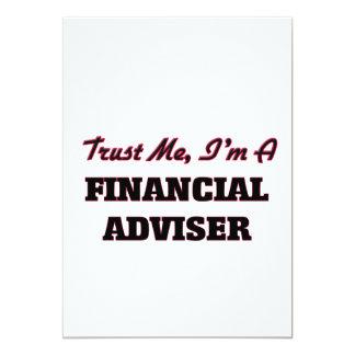 Trust me I'm a Financial Adviser 13 Cm X 18 Cm Invitation Card