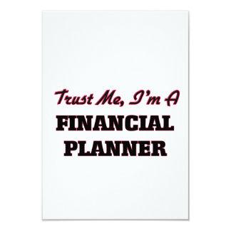 Trust me I'm a Financial Planner 9 Cm X 13 Cm Invitation Card