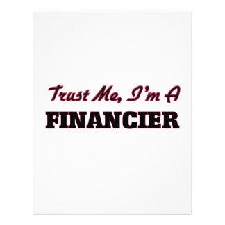 Trust me I'm a Financier 21.5 Cm X 28 Cm Flyer
