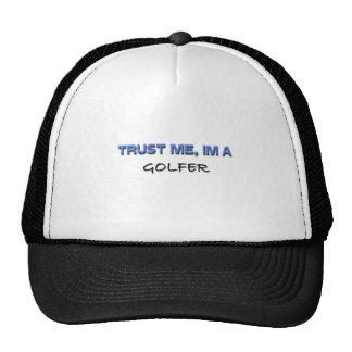 Trust Me I'm a Golfer Mesh Hats
