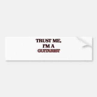 Trust Me I'm A GUITARIST Bumper Sticker