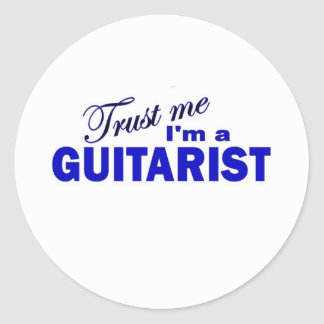 Trust Me I'm a Guitarist Stickers