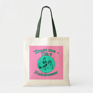 Trust Me I'm a Hairdresser Products Tote Bag