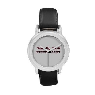 Trust me I'm a Herpetologist Wristwatch