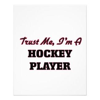 Trust me I'm a Hockey Player Flyer