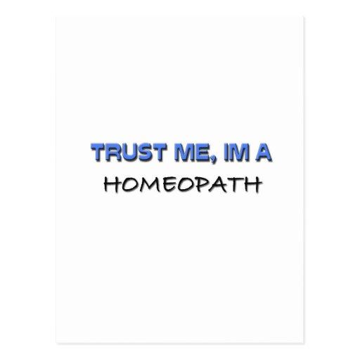 Trust Me I'm a Homeopath Postcards