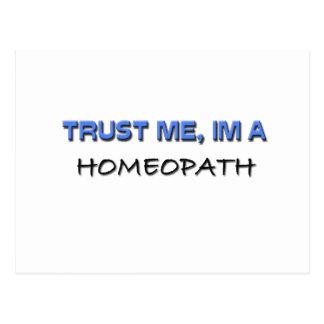 Trust Me I'm a Homeopath Postcard