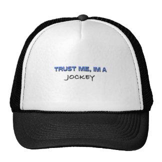 Trust Me I'm a Jockey Mesh Hats