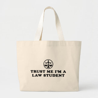 Trust Me I'm A Law Student Jumbo Tote Bag