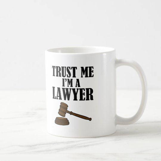 Trust Me I'm a Lawyer funny men's shirt