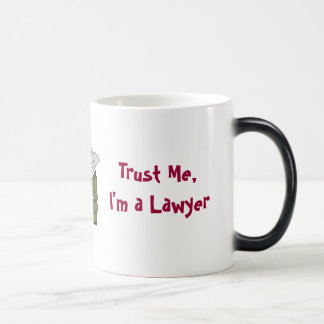 Trust Me, I'm A Lawyer Magic Mug