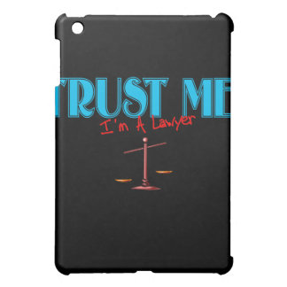 Trust Me I'm A Lawyer Scales Of Justice iPad Mini Covers
