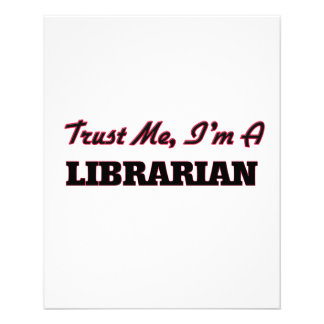 Trust me I'm a Librarian Flyers