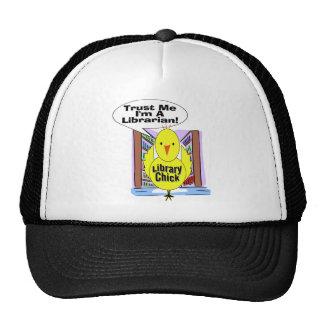 Trust Me I'm A Librarian Hats