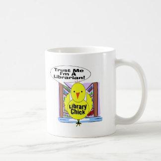 Trust Me I'm A Librarian Coffee Mug