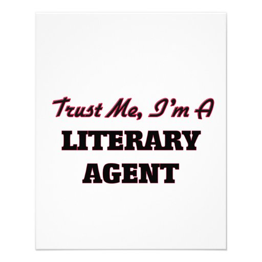 Trust me I'm a Literary Agent Flyer