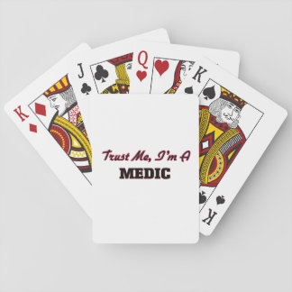 Trust me I'm a Medic Playing Cards