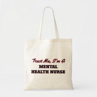 Trust me I'm a Mental Health Nurse Canvas Bag