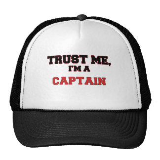 Trust Me I'm a My Captain Trucker Hats