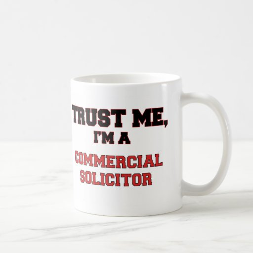 Trust Me I'm a My Commercial Solicitor Mug