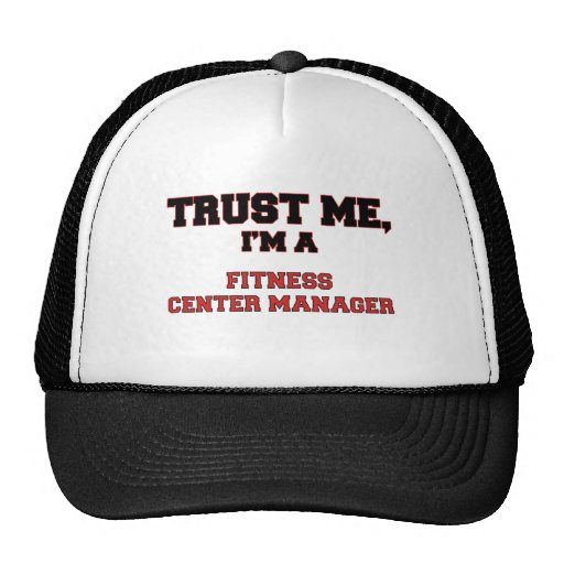 Trust Me I'm a My Fitness Center Manager Mesh Hats