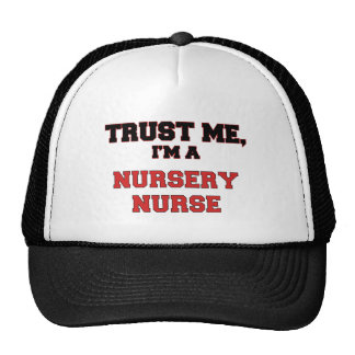 Trust Me I'm a My Nursery Nurse Mesh Hats