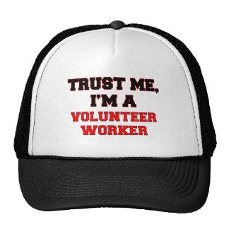 Trust Me I'm a My Volunteer Worker Mesh Hat