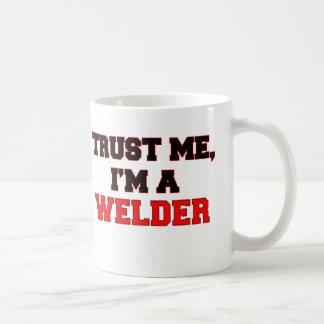 Trust Me I'm a My Welder Basic White Mug