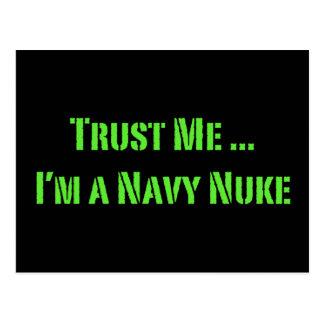 Trust Me I'm a Navy Nuke Post Cards