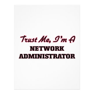 Trust me I'm a Network Administrator Custom Flyer