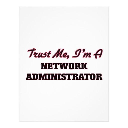 Trust me I'm a Network Administrator Custom Flyer