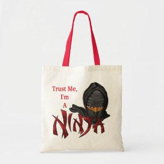 Trust Me I'm A Ninja Tote Bag