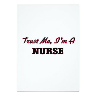 Trust me I'm a Nurse Invites