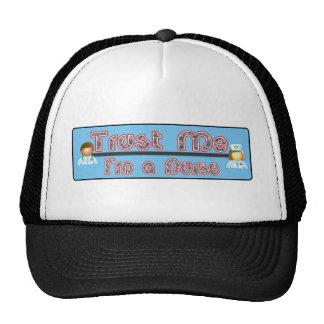 Trust Me, I'm a Nurse Mesh Hats
