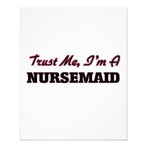 Trust me I'm a Nursemaid Full Color Flyer
