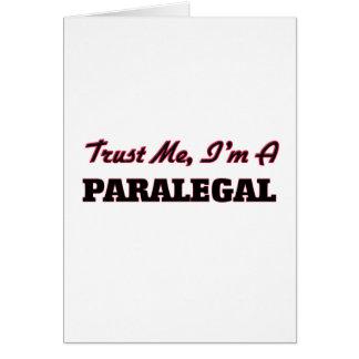 Trust me I'm a Paralegal Card