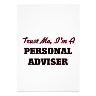 Trust me I'm a Personal Adviser Personalized Invites