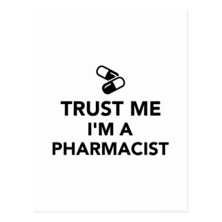 Trust me I'm a Pharmacist Post Cards