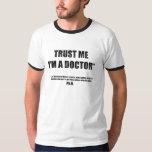 Trust Me I'm a PhD Men's Ringer Tee
